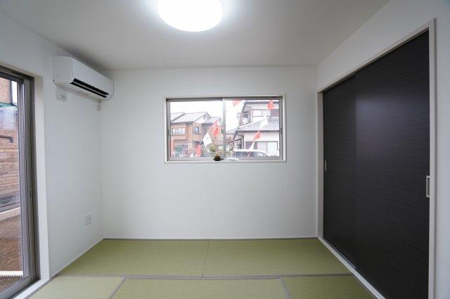 5.7畳の和室!お子様の遊び場や客間としてと使い方様々!