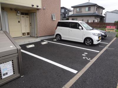 敷地内駐車場、空き有り