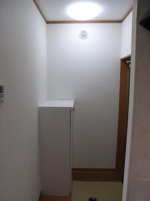 シューズボックス付きの玄関