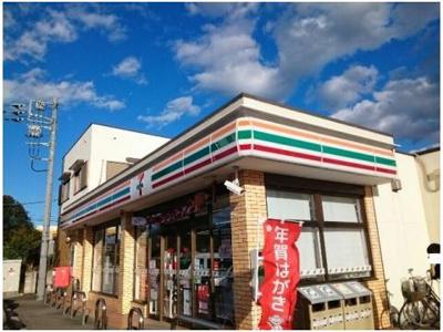 セブンイレブン若田町店まで800m