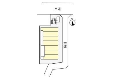 【駐車場】サニーフラットⅡ