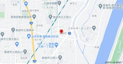 【地図】須賀町8貸家 (株)Roots