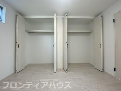 3階洋室6.5帖 収納