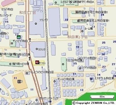【地図】エスポワール和白東