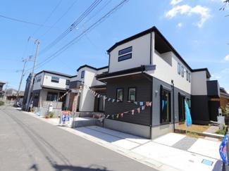 前面道路含む現地写真です:三郷新築ナビで検索♪
