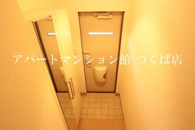 【玄関】けやきレジデンスB