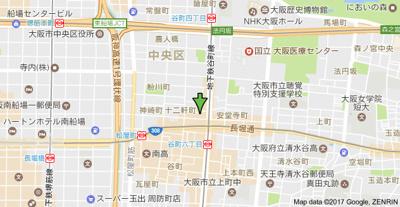 【地図】プライムアーバン安堂寺