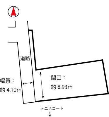 【外観】諸江町下丁土地