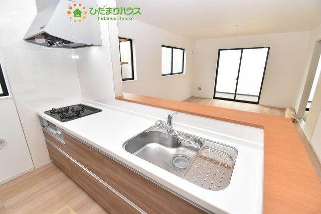 【キッチン】北区宮原町 12期 新築一戸建て 02