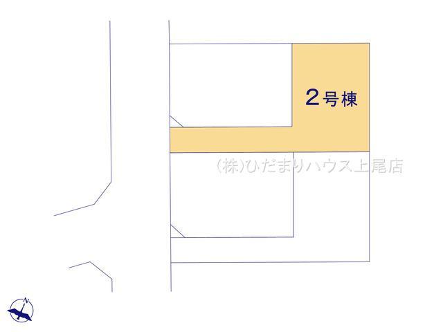 【区画図】北区宮原町 12期 新築一戸建て 02
