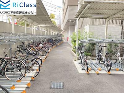 【駐輪場】プレサンスジェネ新神戸ステーションフロント