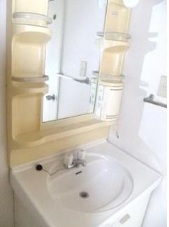 【洗面所】須賀第10マンション
