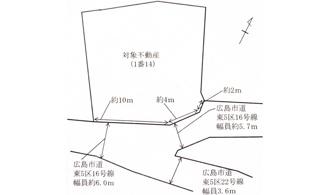 【土地図】広島市東区光が丘