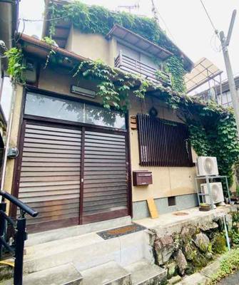 【外観】南禅寺北ノ坊町 改装済・露天風呂付のお庭