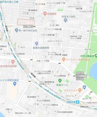 【地図】ビーハウス浮間公園
