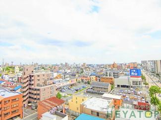 バルコニーからの眺望(同仕様写真)