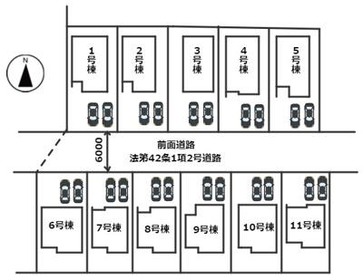 【区画図】姫路市網干区田井19-2期