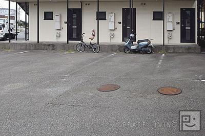 【駐車場】グローバルハイツA