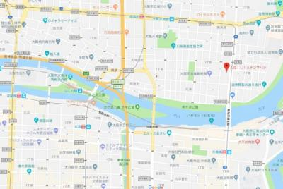 【地図】アジリア天満橋
