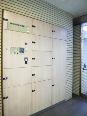 メゾン・ド・ヴィレ日本橋中洲の宅配ボックスです。