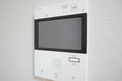 ラフェスタ板橋本町のTV付インターホン☆