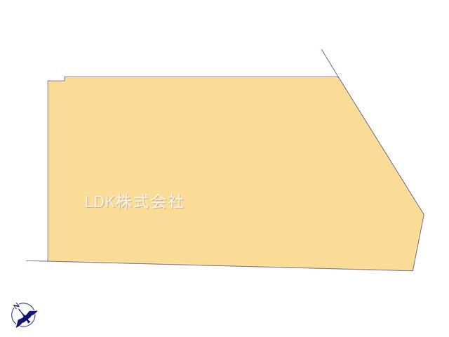 【区画図】新築戸建/富士見市上沢1丁目(全1棟)