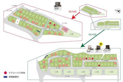 【区画図】関津4丁目 のぞみが丘大津関津 40号地