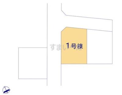 【区画図】リーブルガーデン倉敷・福田町古新田第8 1号棟