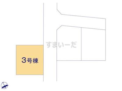 【区画図】リーブルガーデン倉敷・福田町古新田第8 3号棟
