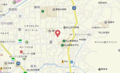 【地図】セントラルヴィレッジ桑原 A棟・