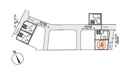 【区画図】リーブルガーデン倉敷・福田町古新田第8 5号棟