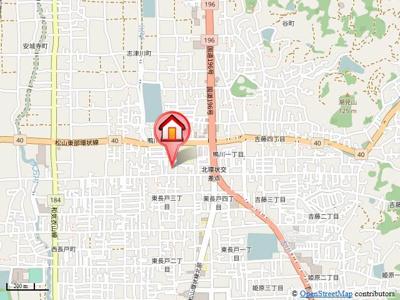 【地図】ハイカムール鴨川