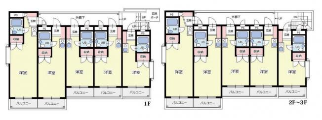 埼玉県所沢市有楽町の1棟売りマンション