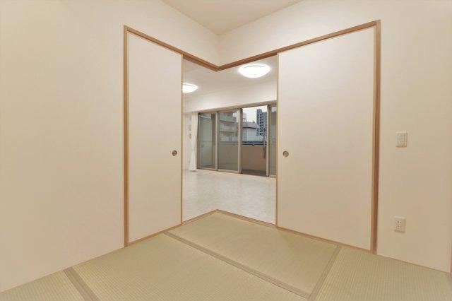 ゆったりとくつろげる和室です