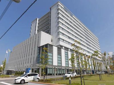 愛媛県立中央病院 476m