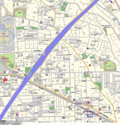 【地図】ライオンズマンション武蔵新城第2
