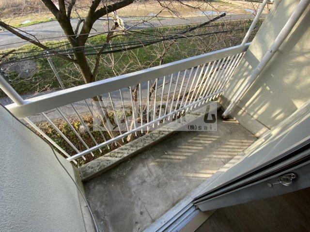 【バルコニー】大清リバーサイドハイツ