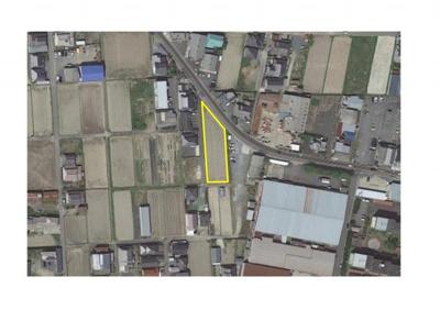 【地図】成松売土地876.4万