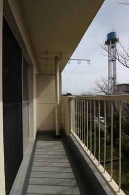 【バルコニー】神陵台厚生年金住宅5号棟