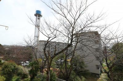 【展望】神陵台厚生年金住宅5号棟