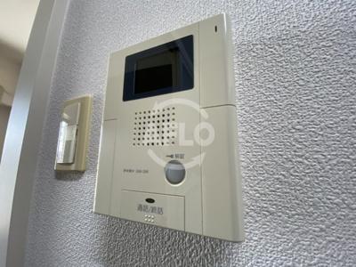ラ・フォーレ天満橋 TV付モニターフォン