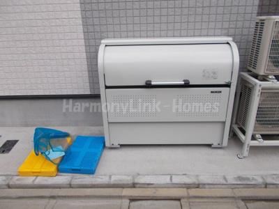 パークサイド西新井の室内洗濯機置き場