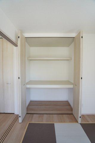 1階洋室 開口部が広いのでムダなく利用できます。