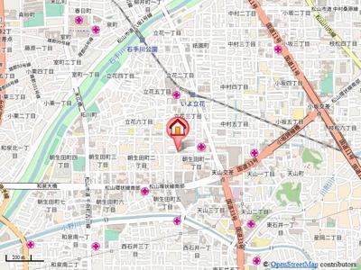 【地図】プラザG&K・