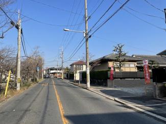 【前面道路含む現地写真】レクシア山本町4丁目【土地】