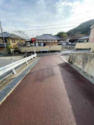 【前面道路含む現地写真】京都市山科区西野山桜ノ馬場町 新築戸建