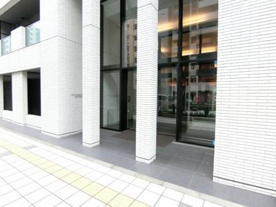 【エントランス】シティハウス秋葉原イーストレジデンス