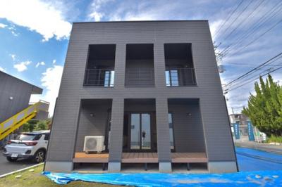 【外観】昭和町河西建売住宅「LAGUNA BOX」