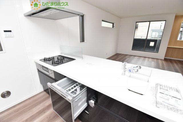 【キッチン】上尾市柏座3 新築一戸建て A