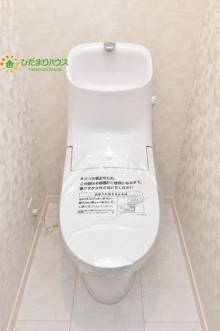 【トイレ】上尾市柏座3 新築一戸建て A